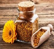 Vasetto di polline di api - foto dalla rete